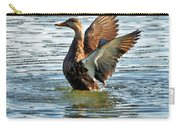 Dancing Duck Carry-all Pouch