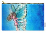 Dancing Fairy In Blue Sky Carry-all Pouch