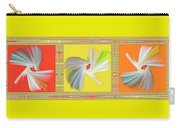 Dancing Flower Trio Carry-all Pouch