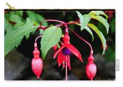 Dancing Fuchsia Carry-all Pouch