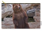 Dancing Grizzly Carry-all Pouch