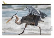 Dancing Heron #1/3 Carry-all Pouch