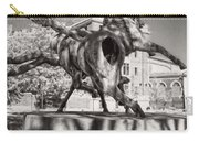 Dancing Horses Noir Carry-all Pouch