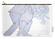 Dancing In Blue Carry-all Pouch
