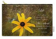 Dancing In The Rain Print Carry-all Pouch