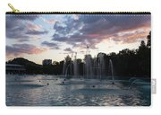 Dancing Jets And Music Sunset - Plovdiv Singing Fountains Carry-all Pouch