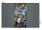 Dancing Koi Carry-all Pouch