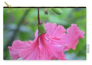 Dancing Lady Pink Hibiscus Carry-all Pouch