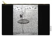 Dancing Lyrics Carry-all Pouch