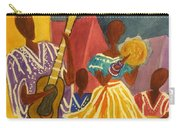 Dancing N Jammin In The Street  Abstract  Carry-all Pouch