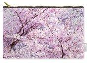 Dancing Sakura Haiku Carry-all Pouch
