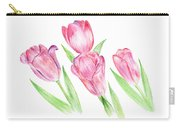 Dancing Tulips Carry-all Pouch