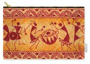 Dancing Warlis Carry-all Pouch