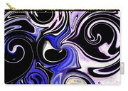Dancing With The Swans Abstract Carry-all Pouch