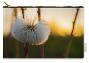 Dandelion At Sunset Carry-all Pouch
