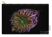 Dandelion Eye In Pink Carry-all Pouch
