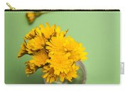 Dandelion Flower Clippings Carry-all Pouch
