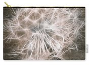 Dandelion In Brown Carry-all Pouch by Aimelle