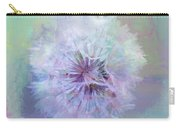 Dandelion In Pastel Carry-all Pouch