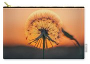 Dandelion In The Sun Carry-all Pouch