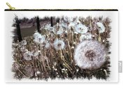 Dandelion Wishes Carry-all Pouch by Myrna Migala