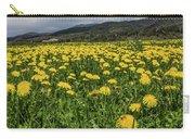 Dandelions Portrait Carry-all Pouch
