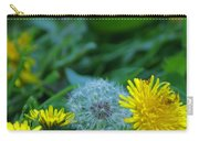 Dandelions, Young And Old Carry-all Pouch