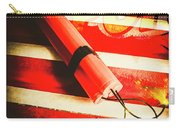 Danger Bomb Background Carry-all Pouch