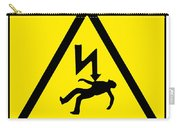 Danger Electricity Carry-all Pouch