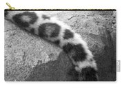 Dangling And Dozing In Black And White Carry-all Pouch