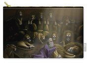 Daniel And The Lions Den Carry-all Pouch