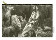 Daniel In The Lions' Den Carry-all Pouch
