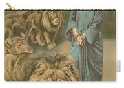 Daniel In The Lions Den Carry-all Pouch