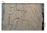 Danzantes Stone Carving Carry-all Pouch