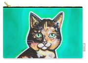 Daphne The Calico Cat Carry-all Pouch