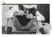 Dapper Man With Toothbrush Carry-all Pouch