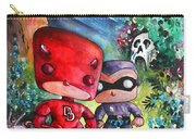 Funkos Daredevil And The Phantom In The Jungle Carry-all Pouch