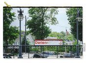 Darien Train Station Sign Carry-all Pouch
