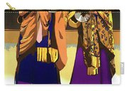 Darjeeling, Lama Dance Musicians, India Carry-all Pouch