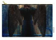Dark Angel At Church Doors Carry-all Pouch