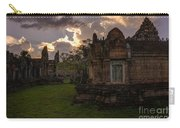 Dark Cambodian Temple Carry-all Pouch