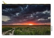 Dark Clouds At Sunset Carry-all Pouch
