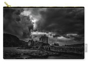 Dark Clouds Bw #h2 Carry-all Pouch