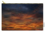 Dark Clouds Carry-all Pouch by Michal Boubin