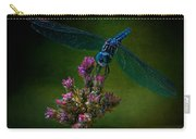 Dark Dragonfly Carry-all Pouch