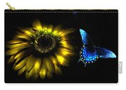 Dark Glow Butterfly Carry-all Pouch