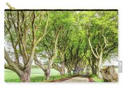 Dark Hedges, Game Of Thrones Carry-all Pouch