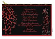 Dark Nights Bright Days Wedding Invitaion Carry-all Pouch