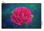 Dark Pink Rose Carry-all Pouch
