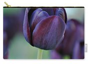 Dark Purple Tulip Carry-all Pouch